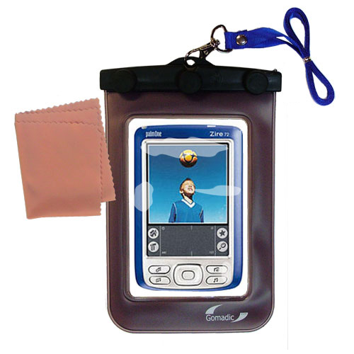 Waterproof Case compatible with the Palm palm Zire 72s to use underwater