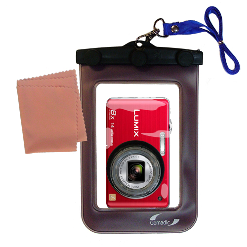 Waterproof Camera Case compatible with the Panasonic DMC-FH20