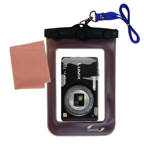 Waterproof Camera Case compatible with the Panasonic DMC-FH22