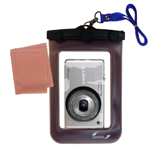 Waterproof Camera Case compatible with the Panasonic DMC-FH3