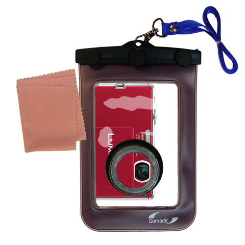 Waterproof Camera Case compatible with the Panasonic DMC-FP1