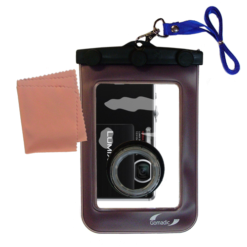 Waterproof Camera Case compatible with the Panasonic DMC-FP3 S