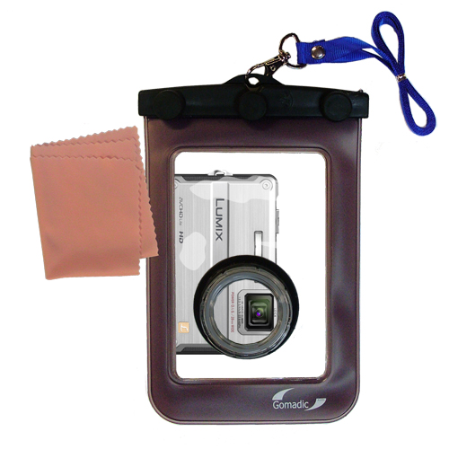 Waterproof Camera Case compatible with the Panasonic DMC-TS2S