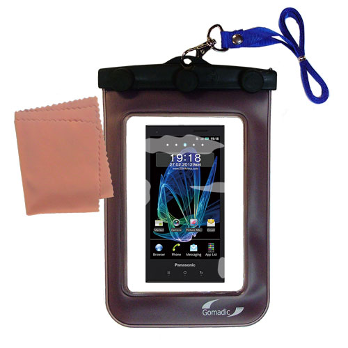 Waterproof Case compatible with the Panasonic Eluga / dL1 to use underwater