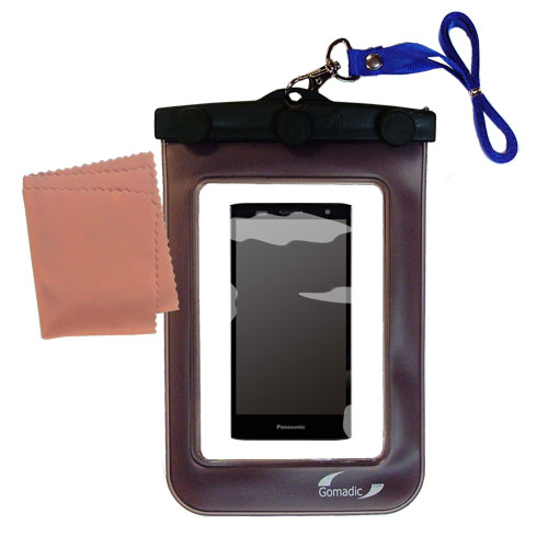 Waterproof Case compatible with the Panasonic ELUGA Power to use underwater