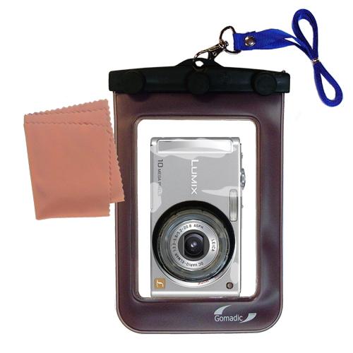 Waterproof Camera Case compatible with the Panasonic Lumix DMC-FS5