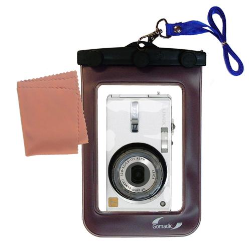 Waterproof Camera Case compatible with the Panasonic Lumix DMC-FX7