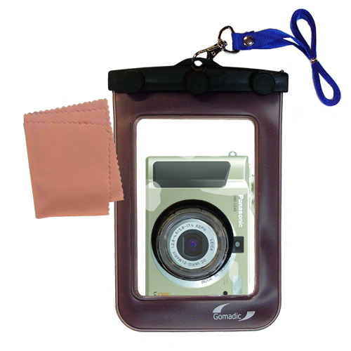 Waterproof Camera Case compatible with the Panasonic Lumix DMC-LC43