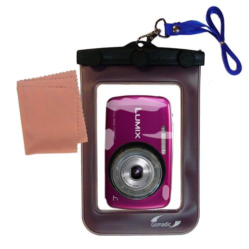 Waterproof Camera Case compatible with the Panasonic Lumix DMC-S3
