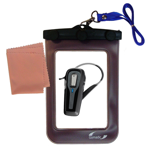 Waterproof Case compatible with the Plantronics 903 to use underwater