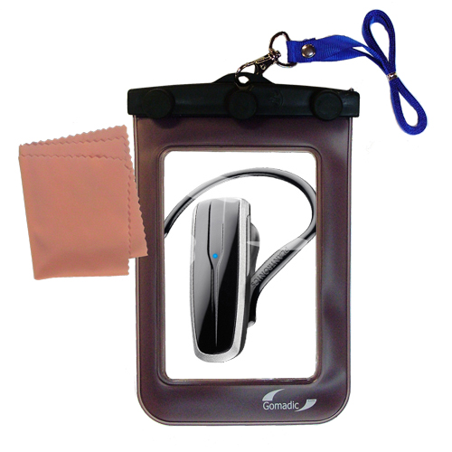 Waterproof Case compatible with the Plantronics Explorer 240 to use underwater