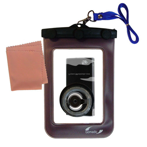 Waterproof Camera Case compatible with the Pure Digital Flip Video MinoHD