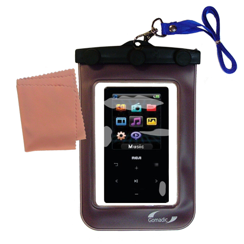 Waterproof Case compatible with the RCA M6104 to use underwater