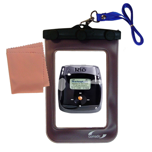 Waterproof Case compatible with the Rio Nitrus to use underwater