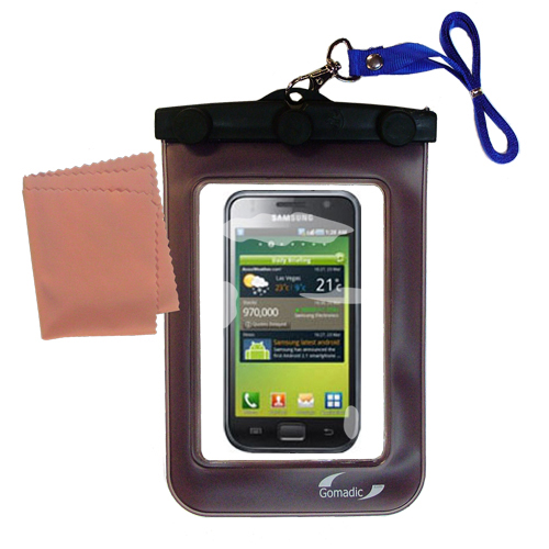 Waterproof Case compatible with the Samsung Galaxy S to use underwater