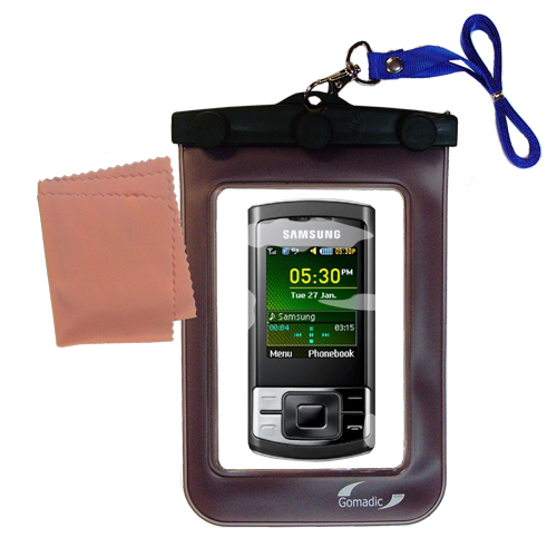 Waterproof Case compatible with the Samsung GT-C3050 to use underwater