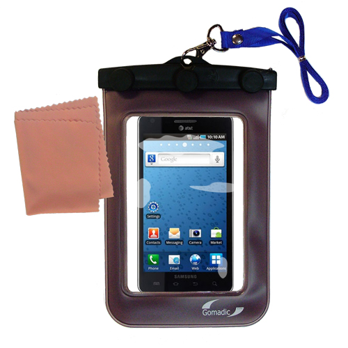 Waterproof Case compatible with the Samsung Infuse 4G to use underwater