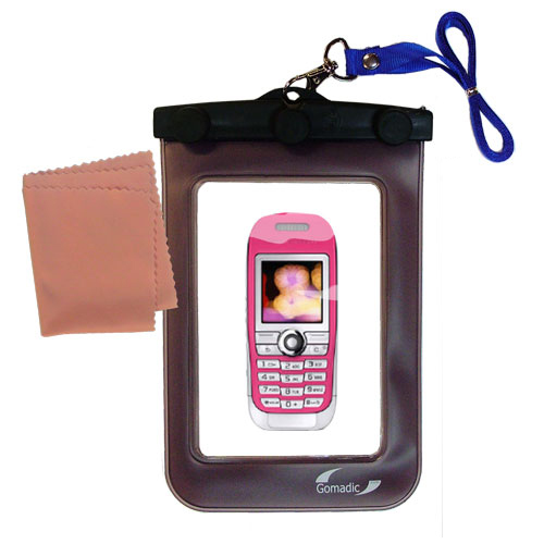 Waterproof Case compatible with the Sony Ericsson J300c to use underwater