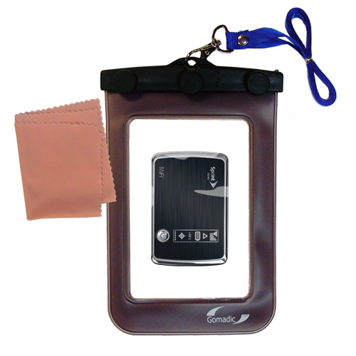 Waterproof Case compatible with the Sprint 3G/4G Mobile Hotspot to use underwater