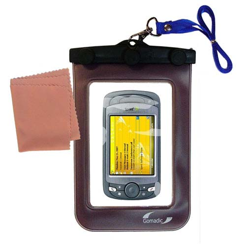 Waterproof Case compatible with the Sprint PPC-6800 to use underwater