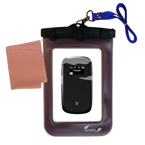 Waterproof Case compatible with the T-Mobile 4G Mobile Hotspot to use underwater