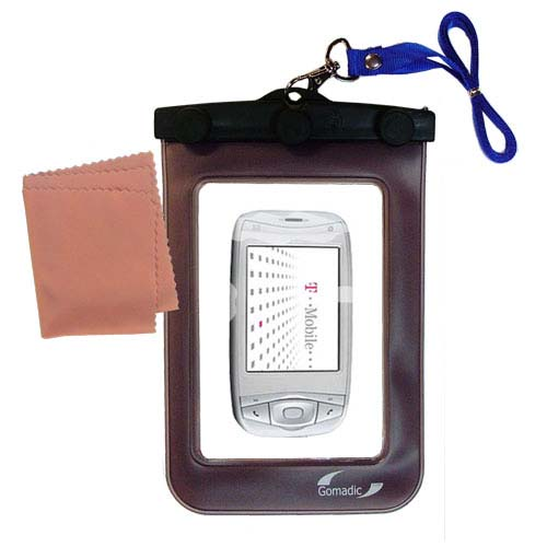 Waterproof Case compatible with the T-Mobile MDA IV to use underwater