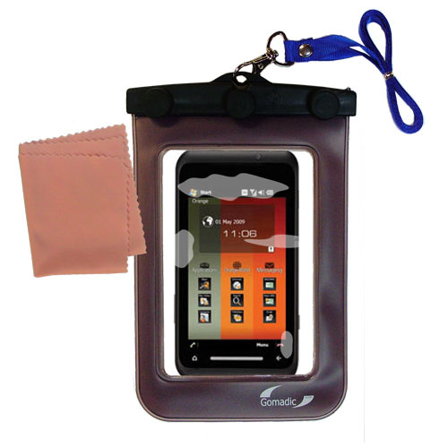 Waterproof Case compatible with the Toshiba TG01 to use underwater