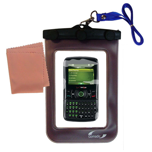 Waterproof Case compatible with the Verizon Razzle TXT8030 to use underwater