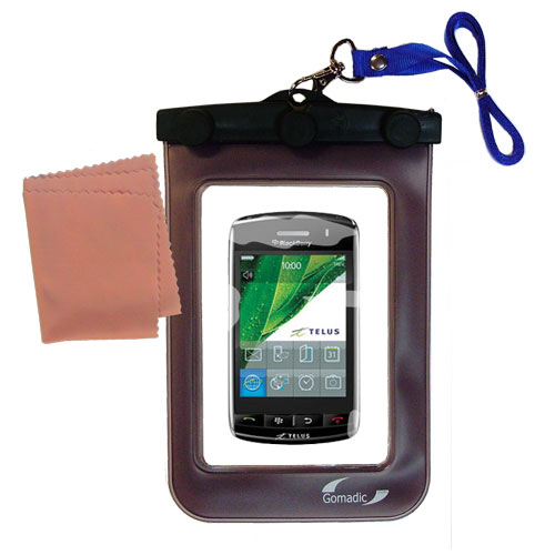 Waterproof Case compatible with the Verizon Storm to use underwater
