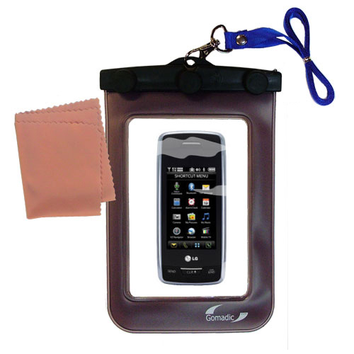 Waterproof Case compatible with the Verizon Voyager to use underwater