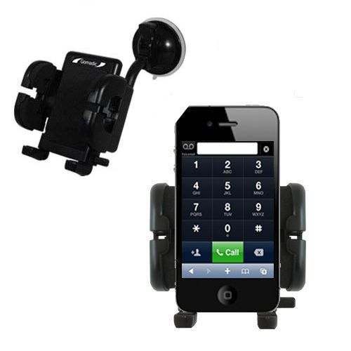 Windshield Holder compatible with the Apple iPhone 4