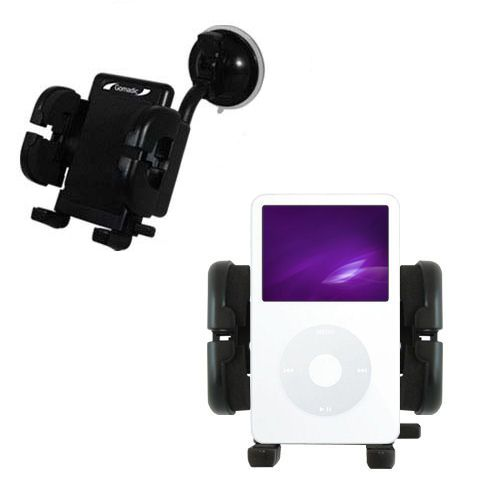 Windshield Holder compatible with the Apple iPod 5G Video (60GB)