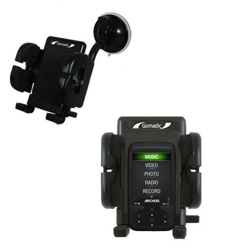 Windshield Holder compatible with the Archos 24 Vision AV24VB