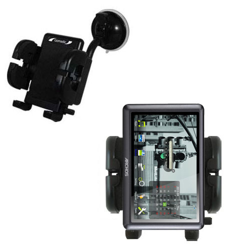 Windshield Holder compatible with the Archos 50b Vision