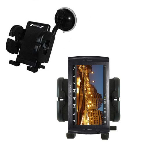 Windshield Holder compatible with the Archos 7 Home Tablet with Android