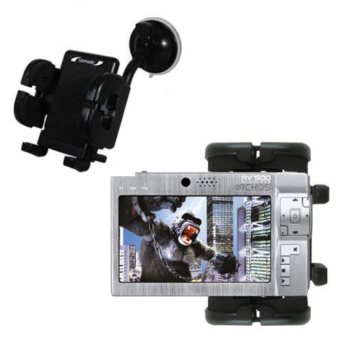 Windshield Holder compatible with the Archos AV500 Series