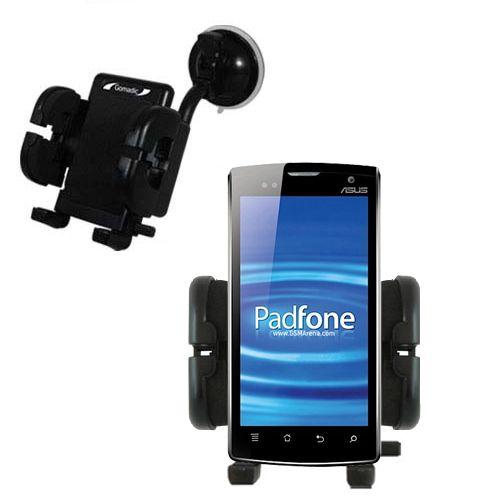 Windshield Holder compatible with the Asus PadFone