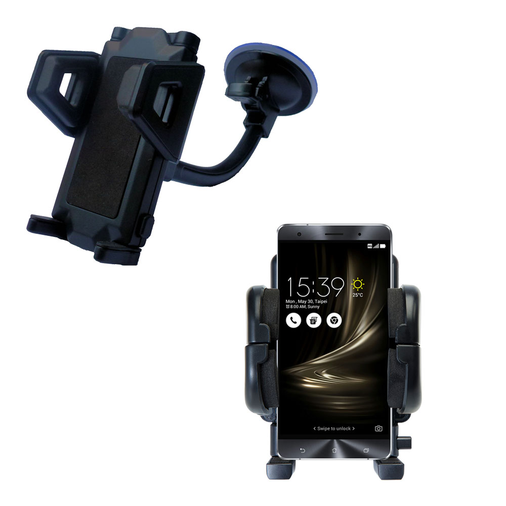 Windshield Holder compatible with the Asus Zenfone 3