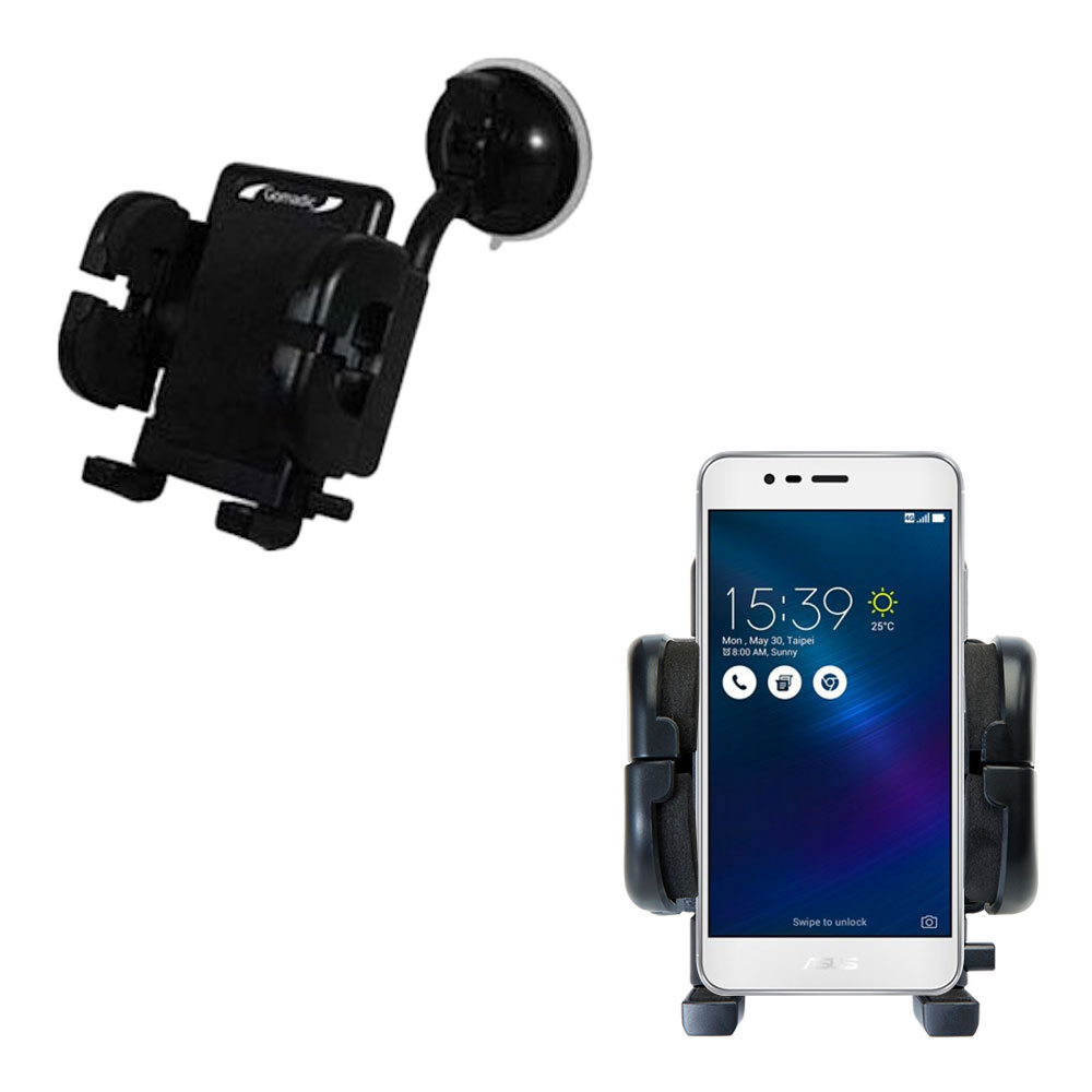 Windshield Holder compatible with the Asus ZenFone 3 Max