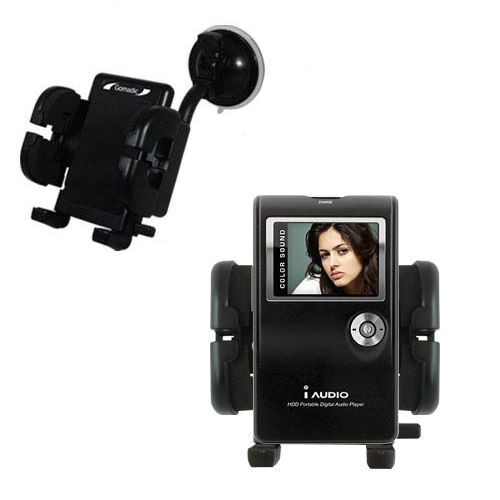 Windshield Holder compatible with the Cowon iAudio X5