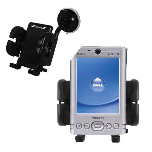 Windshield Holder compatible with the Dell Axim x3i