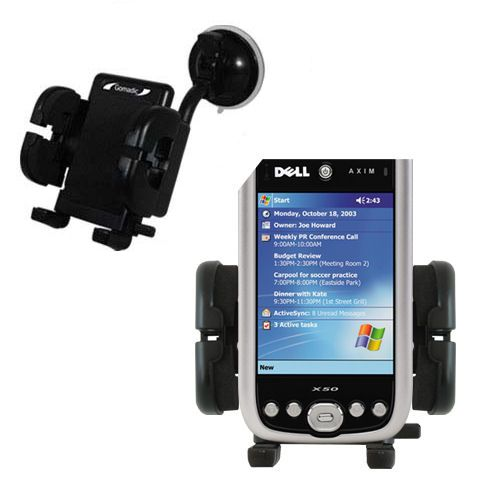 Windshield Holder compatible with the Dell Axim X50 X50v