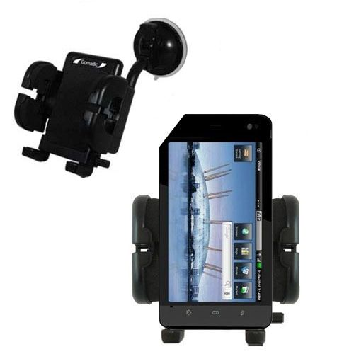 Windshield Holder compatible with the Dell Streak 5