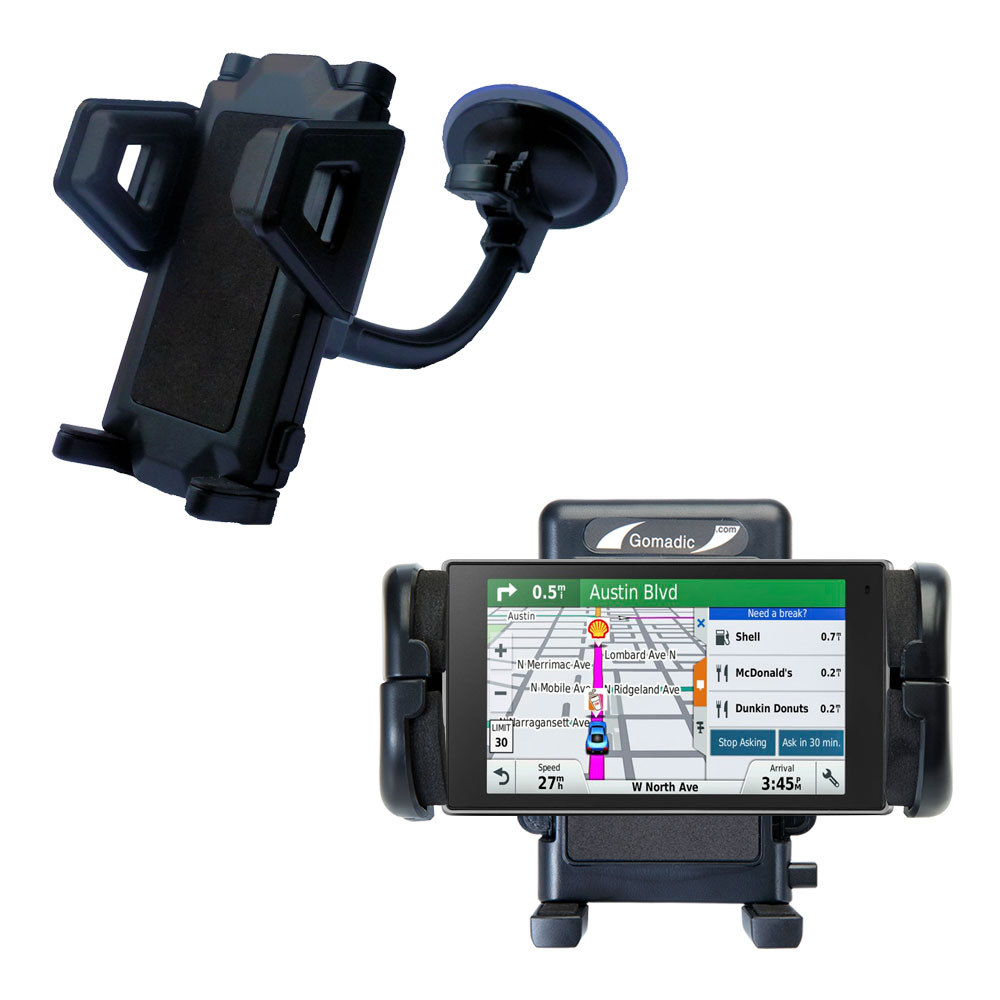 Windshield Holder compatible with the Garmin DriveLuxe 50LMTHD