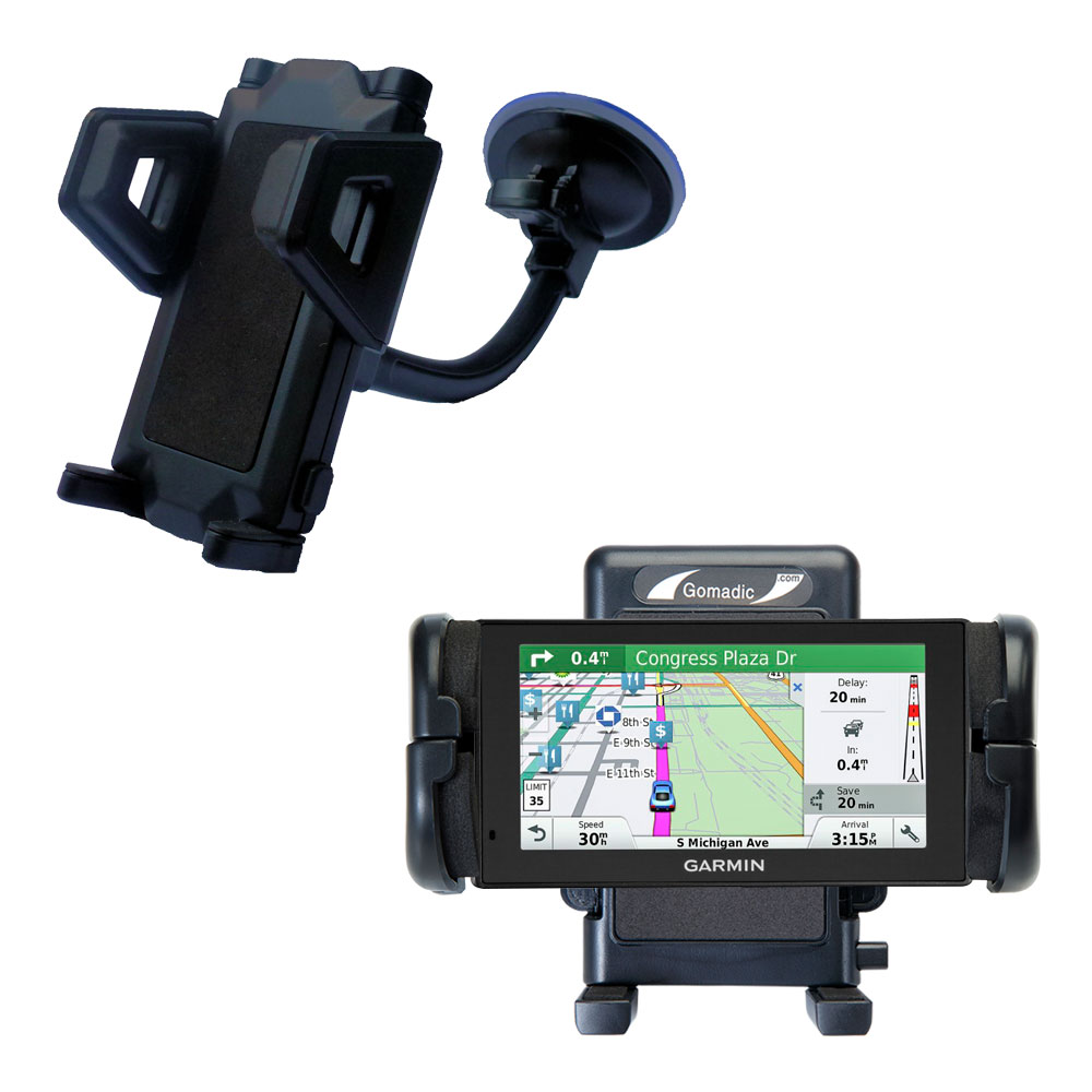 Windshield Holder compatible with the Garmin DriveSmart 60LMT