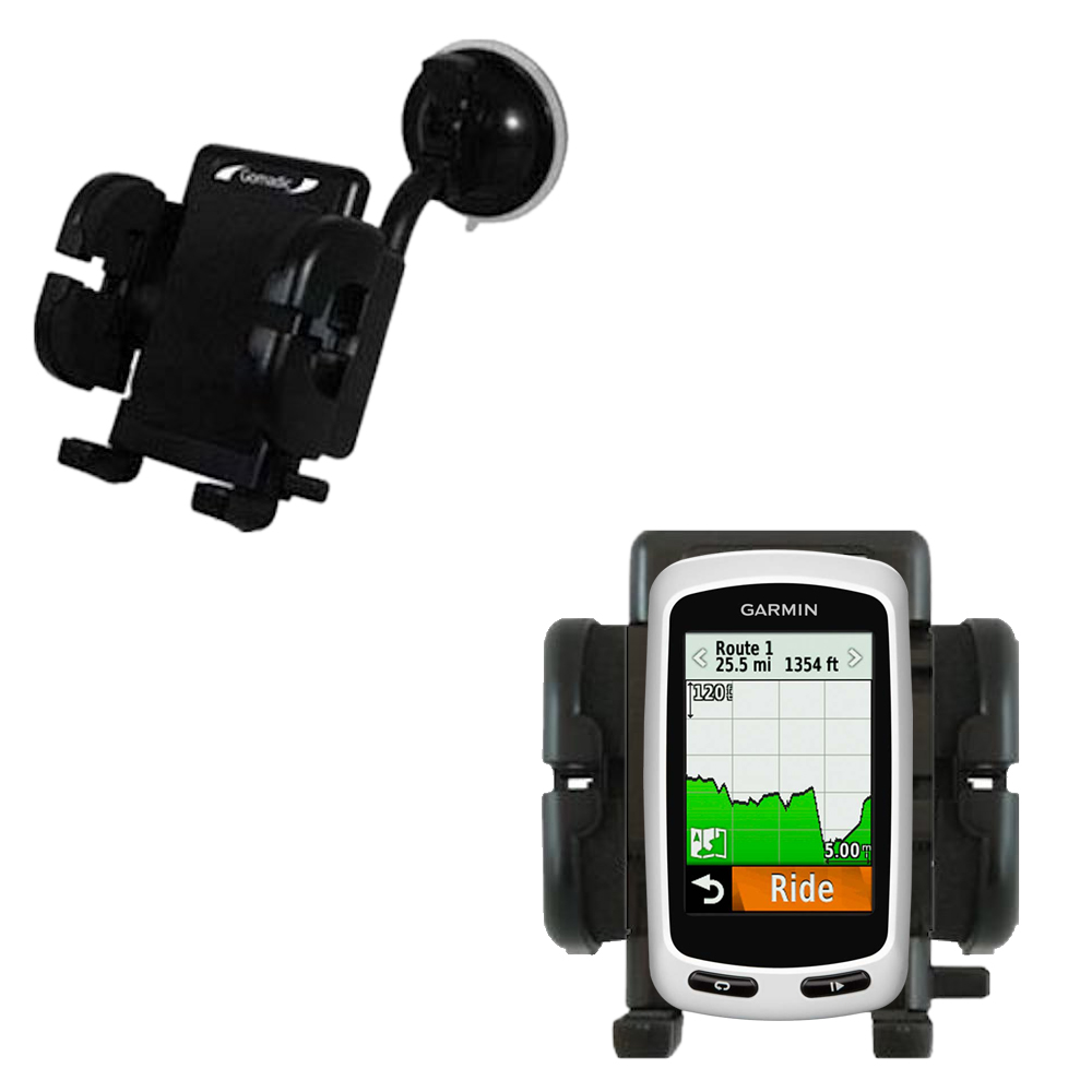 Windshield Holder compatible with the Garmin Edge 1000