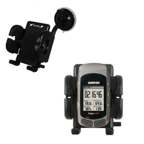 Windshield Holder compatible with the Garmin Edge 205