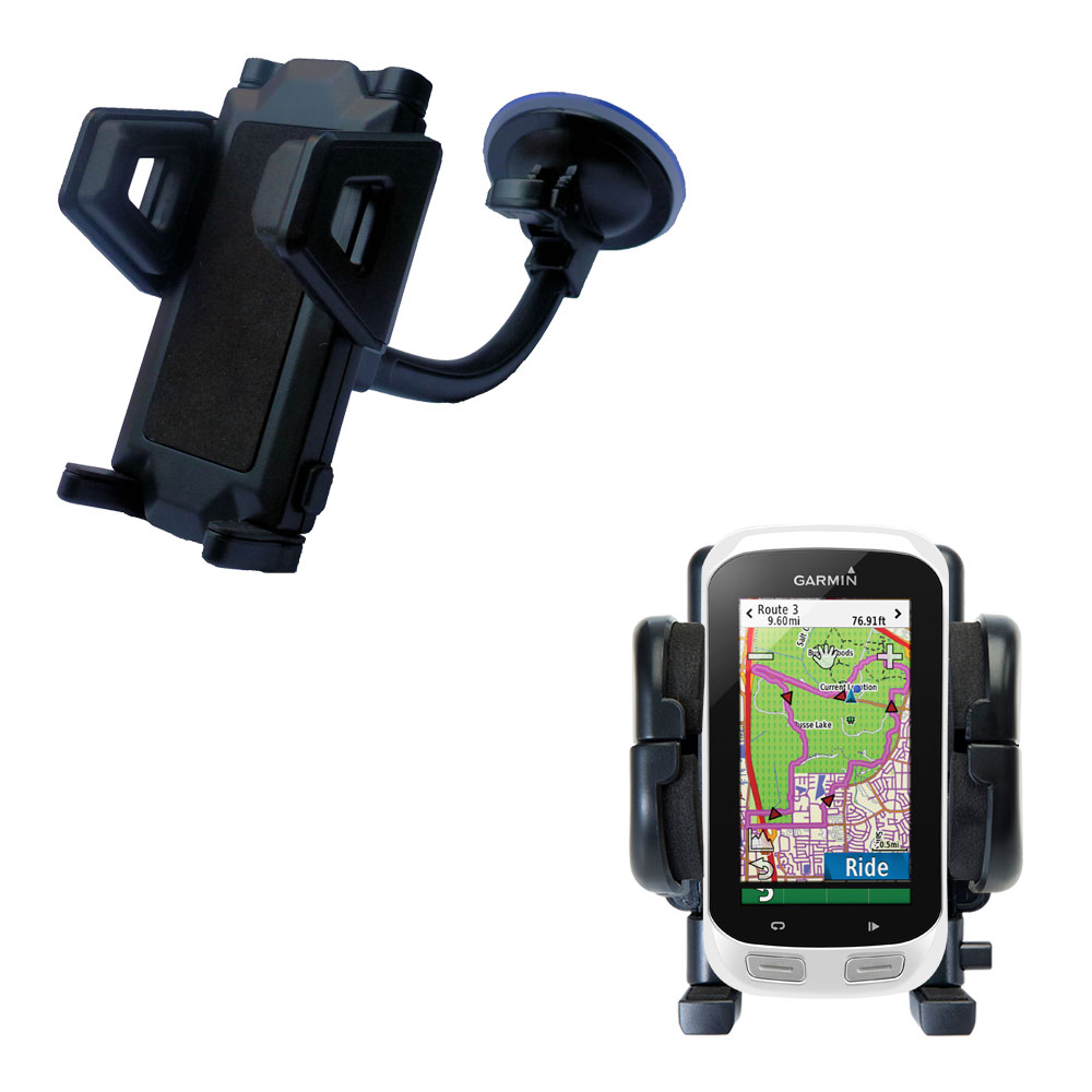 Windshield Holder compatible with the Garmin EDGE Explorer 1000