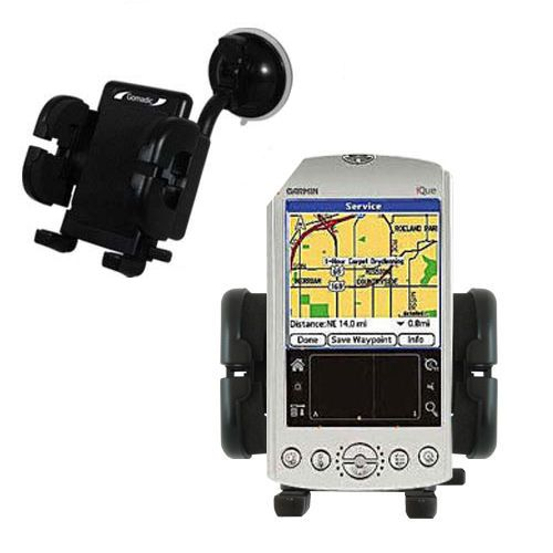 Windshield Holder compatible with the Garmin iQue 3200