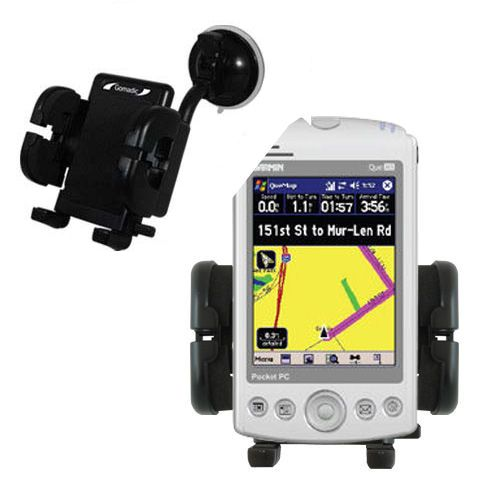 Windshield Holder compatible with the Garmin iQue M3